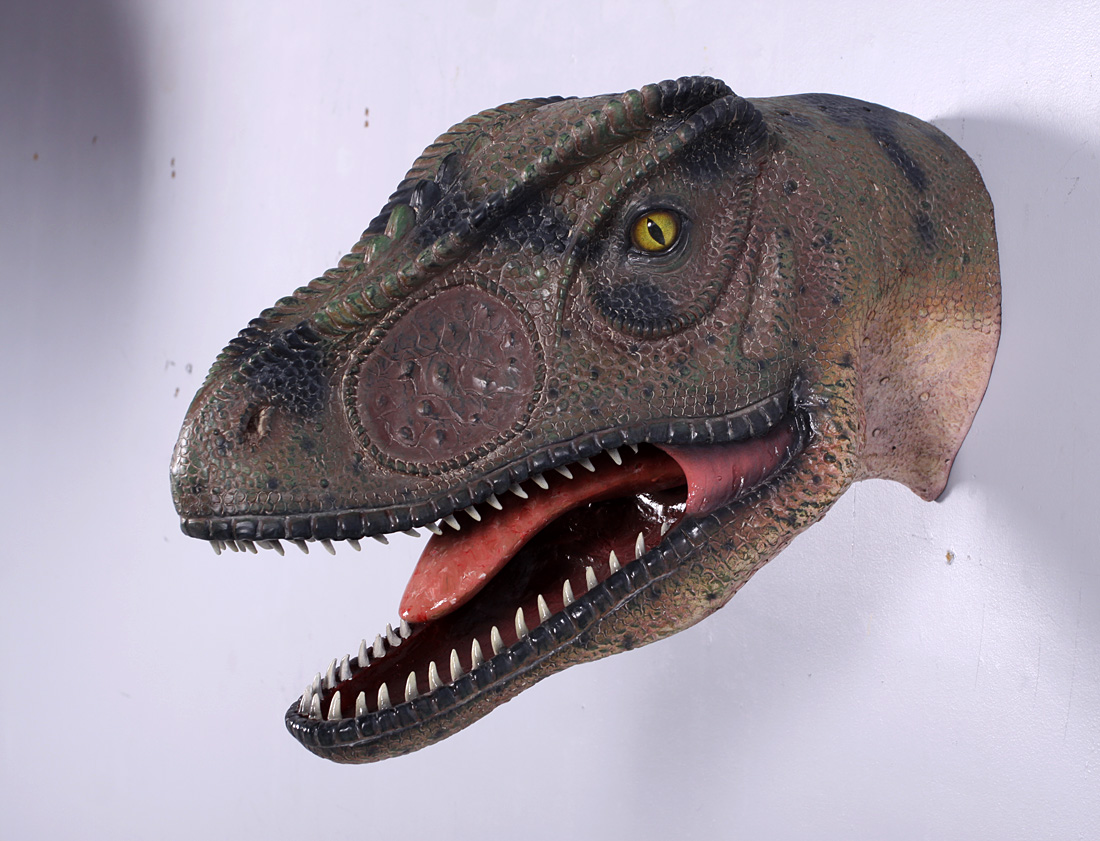 ALLOSAURUS HEAD MOUTH OPEN