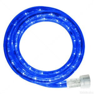 10MM 18' Spool of Blue LED Ropelight