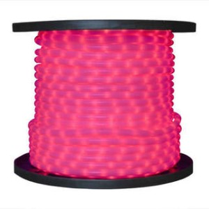10MM 150' Spool Pink LED Ropelight