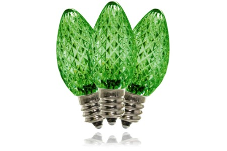 C7 Green Dimmable SMD LED Retrofit Bulb
