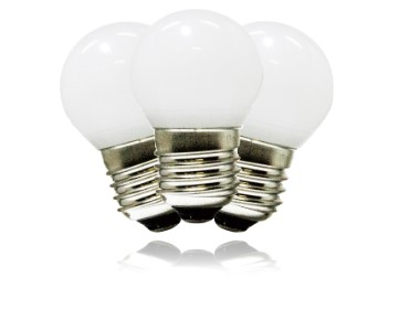 G40 Frosted Pure White Replacement Bulbs