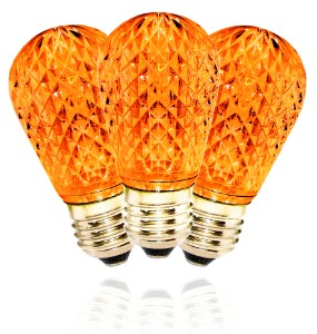 T50 Dimmable Orange / Amber  LED Replacment Bulb