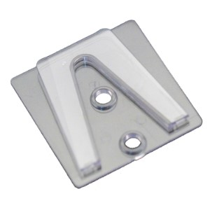 100 Pack Clear Parapet Clip