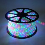 10MM 150' Spool of Multi Colored LED Ropelight