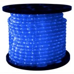 10MM 12 Volt 150' spool of Blue LED Ropelight