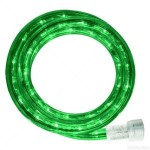 10MM 18' Spool of Green LED Ropelight