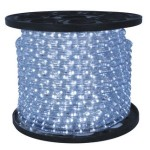 10MM 12 Volt 150' spool of Pure White LED Ropelight