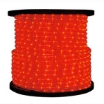 10MM 12 Volt 150' spool of Red LED Ropelight