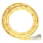 10MM 18' Spool of Warm White LED Ropelight