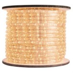 10MM 150' Spool of Warm White LED Ropelight