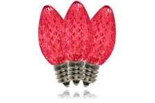 C7 Pink Dimmable SMD LED Retrofit Bulb
