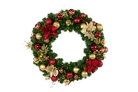 3' Forever Collection Decorated Wreath