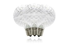 G50 Non-Dimmable Pure White Commercial Retrofit Bulb with an E17 Base and 5 Internal LED Chip