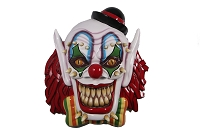 SCARY CLOWN MASK WALL MOUNT