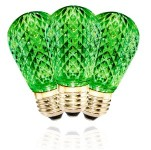 T50 Non-Dimmable Green Retrofit Lamp