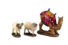 3 pc Camel and Awassi Sheep set for 10