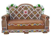 Gingerbread Bench