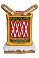 2' Gingerbread Drum with Base