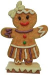 4.5' Gingerbread Girl