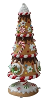 3D GINGERBREAD TREE 04