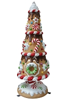 3D GINGERBREAD TREE 08