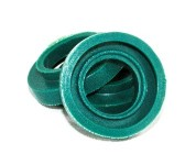 200pk E17 C9 Green Rubber-O Socket Seal Ring