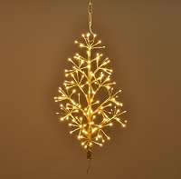 2' GOLD TREE WALL MOUNT LED WW
