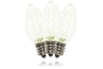 C7 Dimmable Faceted Warm White LED Retrofit Lamp