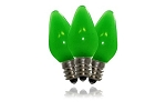 C7 Frosted Green LED Retrofit Bulb