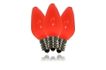 C7 Frosted Red LED Retrofit Bulb