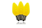 C7 Frosted Yellow LED Retrofit Bulb