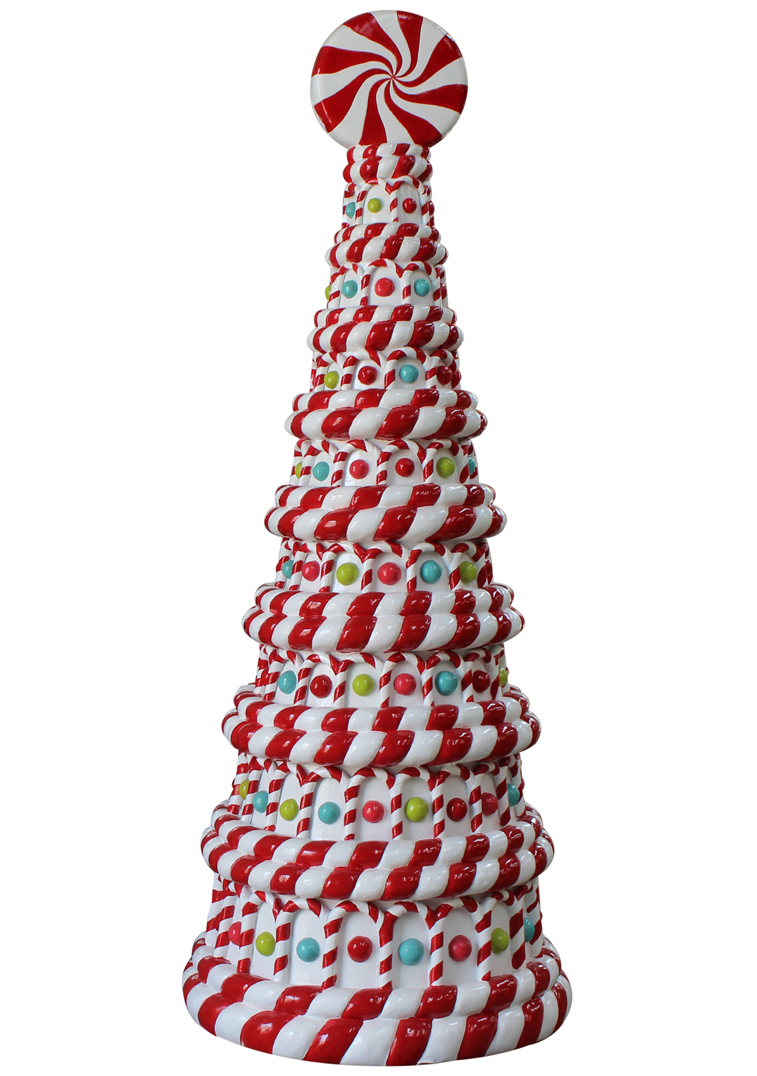 8' Peppermint Candy Tree